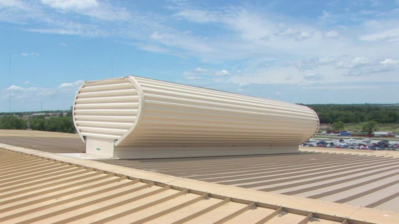 Industrial Roof Vents : Moffittvent natural ventilator colt international llc